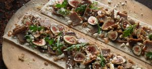 Kronos Gyros Fig and Honey Flatbread