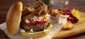 Kronos Greek Burger with Gyros