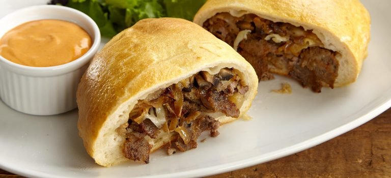 All Meat to Me Calzone - Kronos Gyros