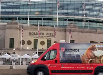Kronos Gyros Now Served at Soldier Field
