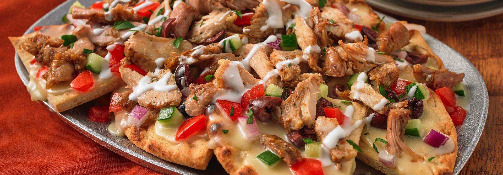 Mediterranean Chix Nachos