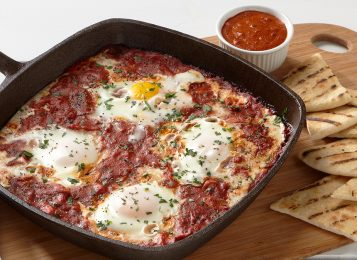 Spicy Harissa Breakfast Shakshuka