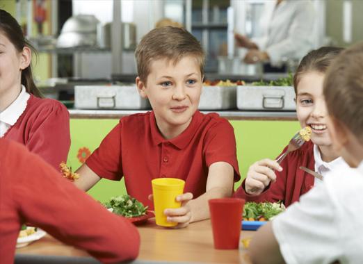 K-12 Cafeteria Photo