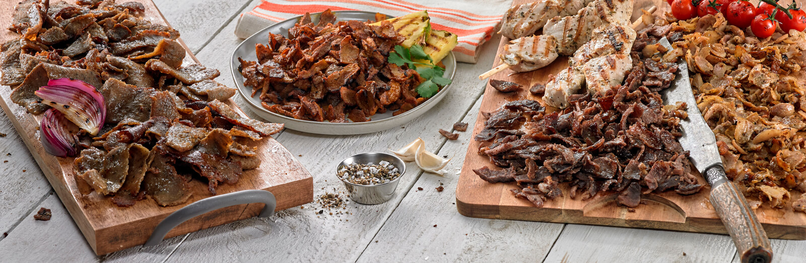 Kronos Foods - Grecian Delight - Global Proteins like Gyro, Shawarma and much more