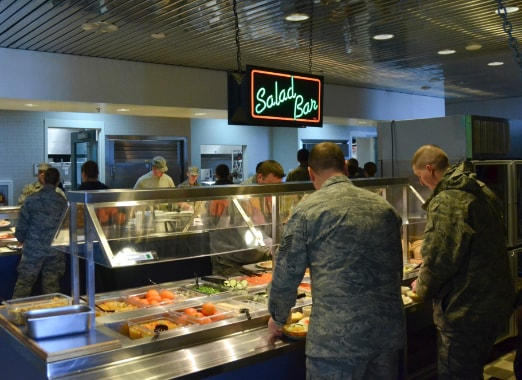 Military DFAC Photo